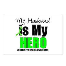Lymphoma Hero (Husband) Postcards (Package of 8)