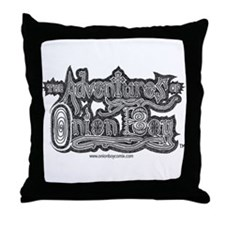 The Adventures of Onion Boy: Throw Pillow
