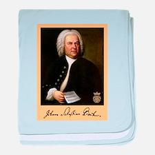J.S. Bach baby blanket