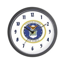 USAF Coat of Arms Wall Clock
