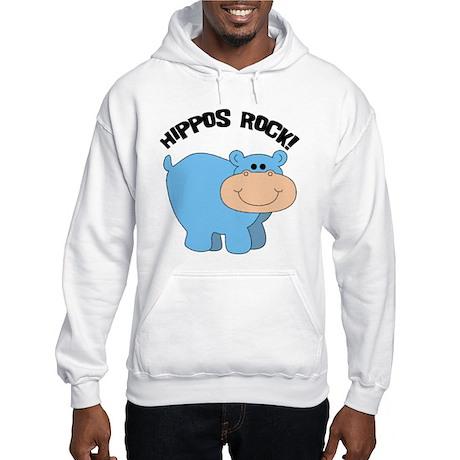 Hippos Rock Hooded Sweatshirt