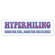 Hypermiling Bumper Bumper Sticker