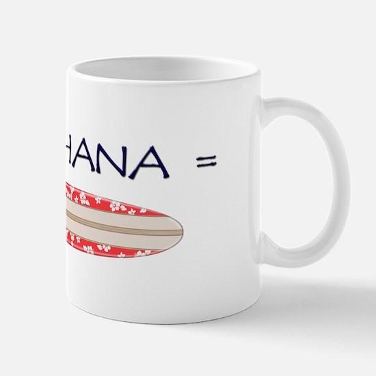 Pau Hana = Surfing! Mug