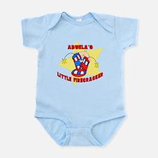 Abuela's Firecracker July 4th Infant Bodysuit