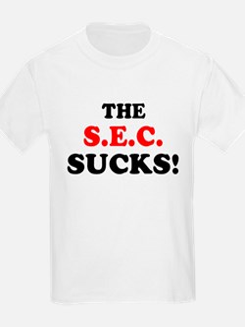 The S.E.C. Sucks! Kids T-Shirt