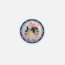 Patriot Bears Mini Button (10 pack)