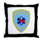 Sutter Creek Fire Throw Pillow