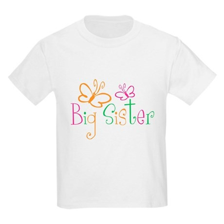 Big Sister T-shirt Kids Light T-Shirt