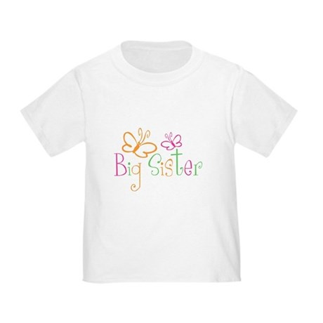 Big Sister T-shirt Toddler T-Shirt