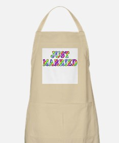 Just married (BBQ apron)