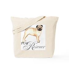 Pug Rescue Tote Bag