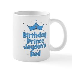 1st Birthday Prince Jayden's Mug