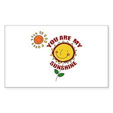 SunShine Rectangle Decal
