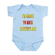 Kick Cancer's Ass Infant Bodysuit