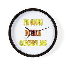 Kick Cancer's Ass Wall Clock