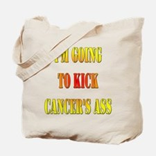 Kick Cancer's Ass Tote Bag