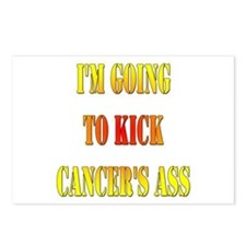 Kick Cancer's Ass Postcards (Package of 8)