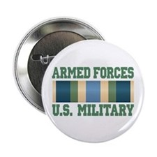 "US Military Service Ribbon 2.25"" Button"