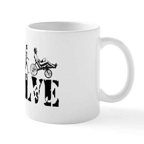Recumbent Bicycle Mug