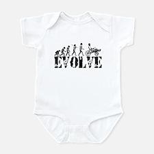 Recumbent Bicycle Infant Bodysuit