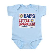 DAD'S LITTLE SPARKLER! Infant Bodysuit