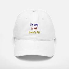 Kick Cancer's Ass ver2 Baseball Baseball Cap
