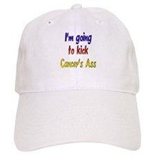 Kick Cancer's Ass ver2 Baseball Cap