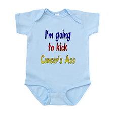 Kick Cancer's Ass ver2 Infant Bodysuit