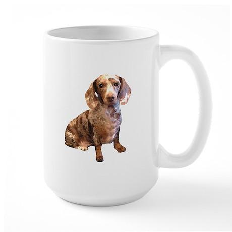 Spotty Dachshund Dog Large Mug