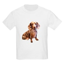Spotty Dachshund Dog T-Shirt