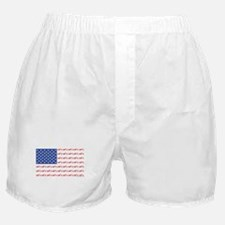 Chopper Motorcycle Flag Boxer Shorts