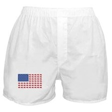 Goldwing Motorcycle Flag Tee Boxer Shorts