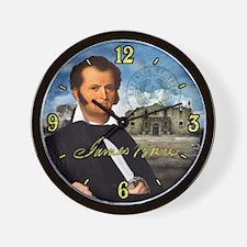 Jim Bowie Alamo Wall Clock