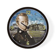 William Travis Alamo Wall Clock