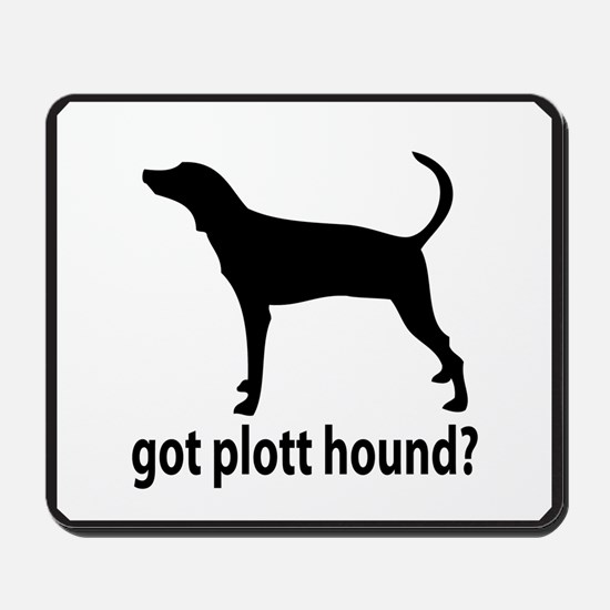 Got Plott Hound? Mousepad