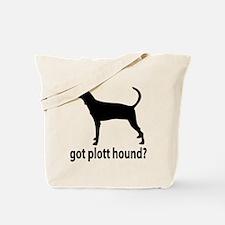 Got Plott Hound? Tote Bag