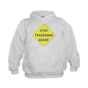 Stop Trademark Abuse! Kids Hoodie