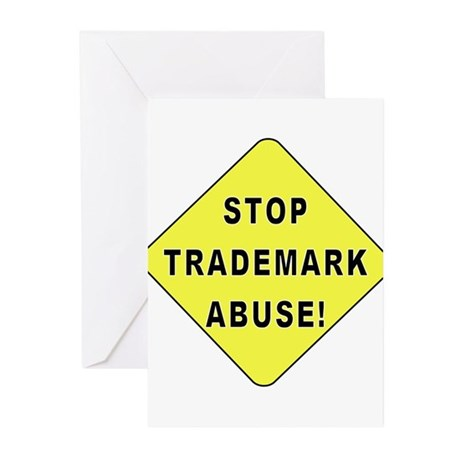 Stop Trademark Abuse! Greeting Cards (Pk of 10)