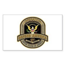 Operation Defend America Rectangle Decal