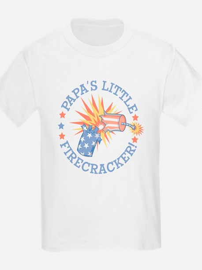 PAPA'S LITTLE FIRECRACKER! T-Shirt