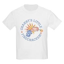 GRANNY'S LITTLE FIRECRACKER! T-Shirt
