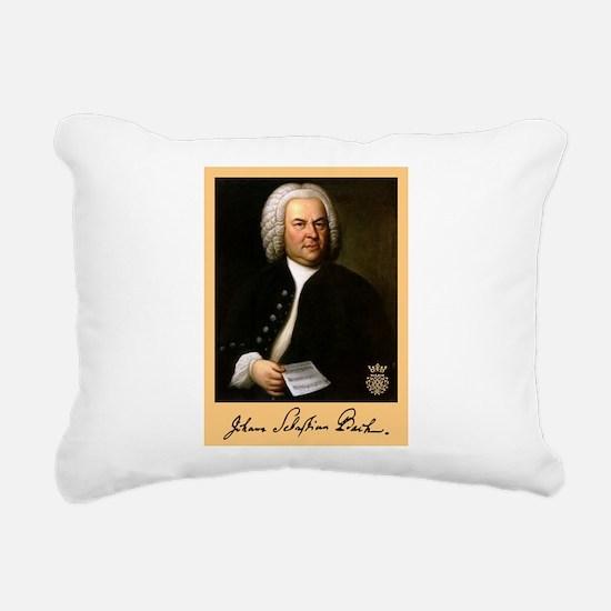 J.S. Bach Rectangular Canvas Pillow