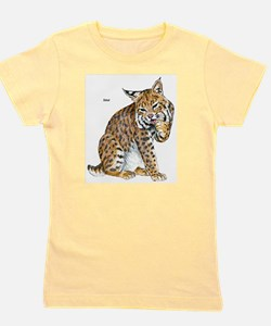 Bobcat Wild Cat Ash Grey T-Shirt