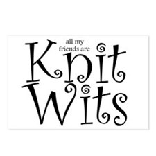 Postcards (Package of 8) knitwits knit wits