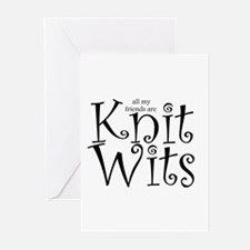 Funny Knitter Greeting Cards (Pk of 10)