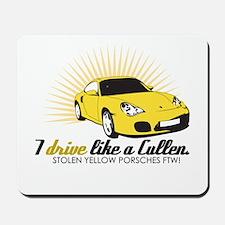 I drive like a Cullen - Alice Mousepad