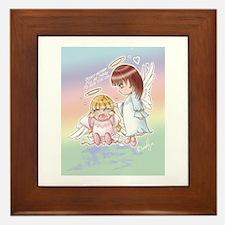 """Precious Chibi Prayers"" Framed Tile"