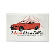 I drive like a Cullen - Rosal Rectangle Magnet