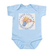 DAD'S LITTLE FIRECRACKER! Infant Bodysuit