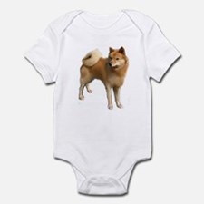 Finnish spitz portrait Infant Bodysuit